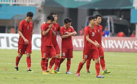 ẢNH: Olympic Việt Nam giành vị trí thứ 4 tại ASIAD khi để thua Olympic UAE trong loạt đá luân lưu