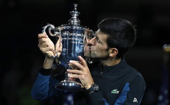 Djokovic xô đổ kỷ lục tiền thưởng của Federer sau chức vô địch Mỹ mở rộng 2018