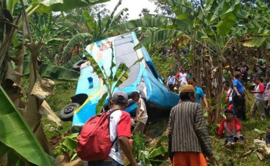 Tai nạn xe bus nghiêm trọng tại Indonesia, 21 người thiệt mạng