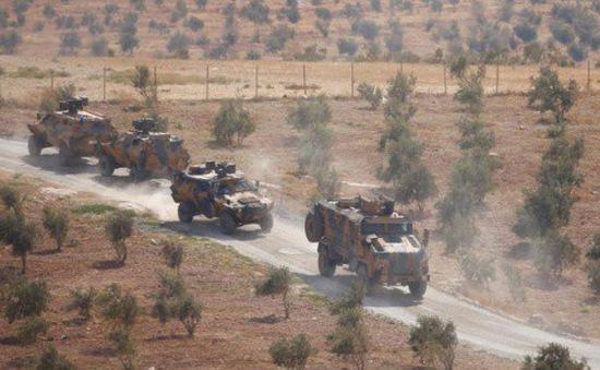 300 xe quân sự Thổ Nhĩ Kỳ tiến vào Idlib, Syria
