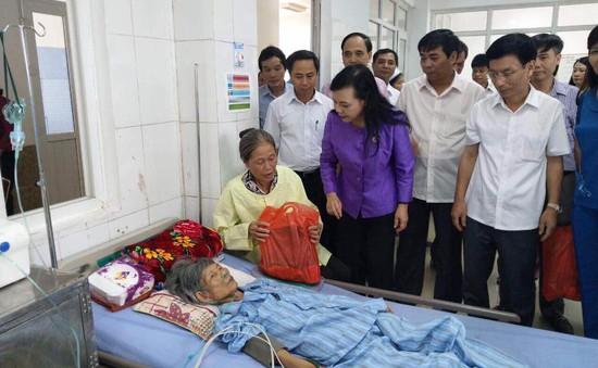 Bộ trưởng Bộ Y tế kiểm tra công tác y tế cơ sở tại Nam Định