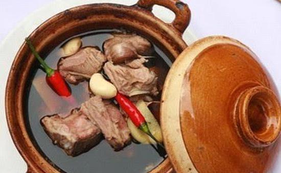 Thịt lợn hầm thuốc bắc - Món ăn bổ dưỡng bạn không nên bỏ qua