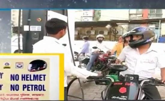 Bangladesh cấm bán xăng cho công dân không đội mũ bảo hiểm