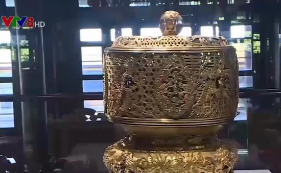 Biểu tượng Rồng – Phượng trên bảo vật triều Nguyễn