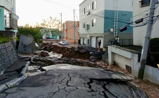 Việt Nam gửi điện thăm hỏi về tình hình động đất ở tỉnh Hokkaido, Nhật Bản