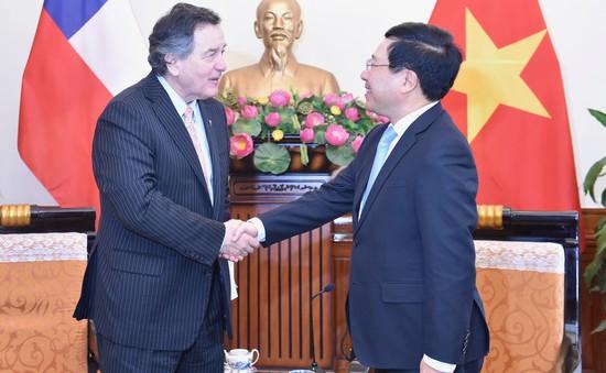 Việt Nam luôn coi Chile là đối tác quan trọng hàng đầu ở khu vực Mỹ Latin