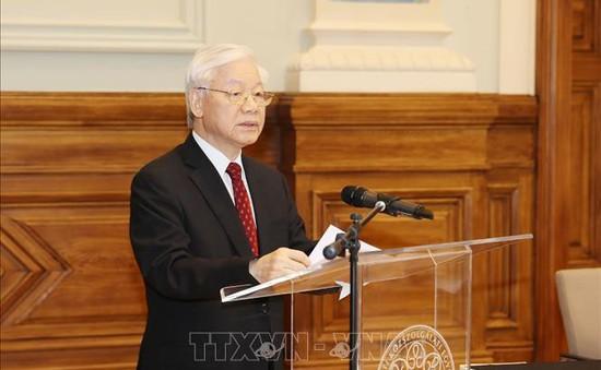 Lãnh đạo nhiều nước gửi điện mừng Tổng Bí thư, Chủ tịch nước Nguyễn Phú Trọng