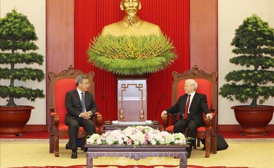 Tổng Bí thư tiếp Phó Thủ tướng Trung Quốc Hồ Xuân Hoa