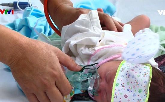 Lo ngại khi trẻ sơ sinh mắc sởi