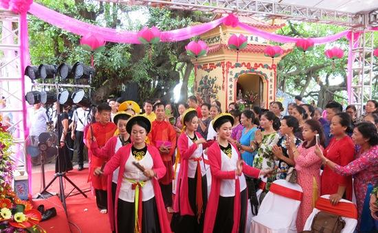 """Kỷ niệm 2 năm ngày """"Tín ngưỡng thờ mẫu tam phủ"""" của người Việt được UNESCO công nhận là Di sản văn hóa phi vật thể"""