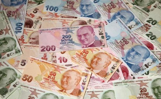 Ngân hàng trung ương Thổ Nhĩ Kỳ tăng lãi suất