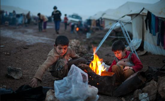 Trẻ em Syria - Những nạn nhân nhỏ bé trong thảm họa nhân đạo to lớn