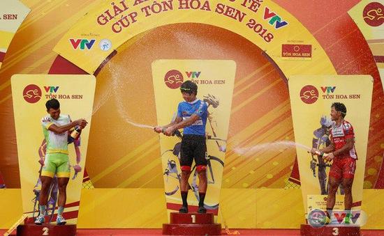 Tổng hợp chặng 13 giải xe đạp quốc tế VTV Cup Tôn Hoa Sen 2018: Im Jaeyeon nhất chặng, cầm chắc áo xanh