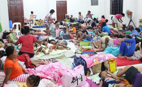 Philippines gồng mình trước siêu bão Mangkhut