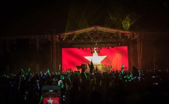 Lễ hội âm nhạc ở Công viên nước hồ Tây vào tối 16/9 có quy mô như thế nào?
