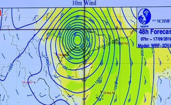 Sai số công nghệ dự báo bão còn rất lớn