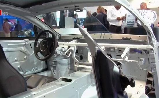 Rapide E - Mẫu ô tô điện đầu tiên của Aston Martin