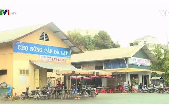 Lâm Đồng: Cấm nông sản ngoài địa phương vào chợ Đà Lạt