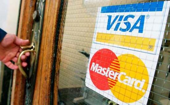 Visa và MasterCard chấp nhận bồi thường 6 tỷ USD