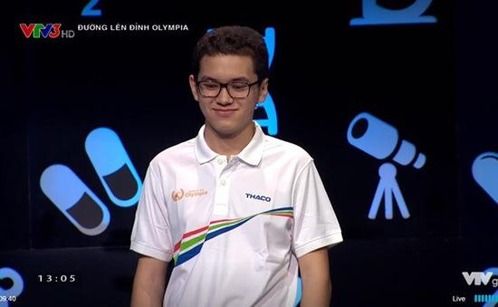 Kỷ lục gia vòng Khởi động giành ngôi quán quân Đường lên đỉnh Olympia 2018