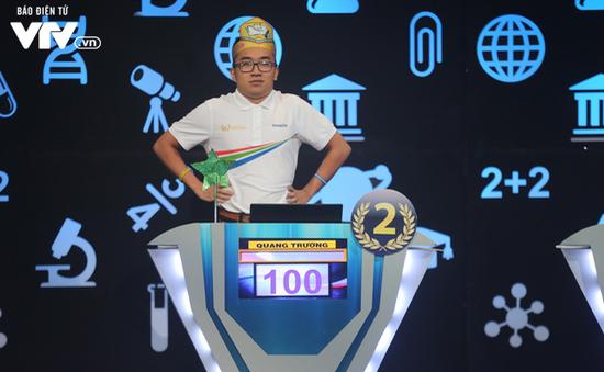 """Không giành quán quân Đường lên đỉnh Olympia 2018 nhưng Chu Quang Trường vẫn cực """"ngầu"""""""