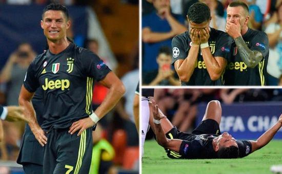 Ronaldo có xứng đáng nhận thẻ đỏ đầu tiên ở Champions League?