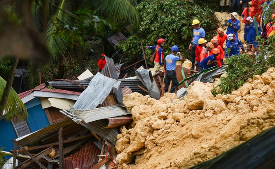 Lở đất sau bão làm nhiều người chết tại Philippines