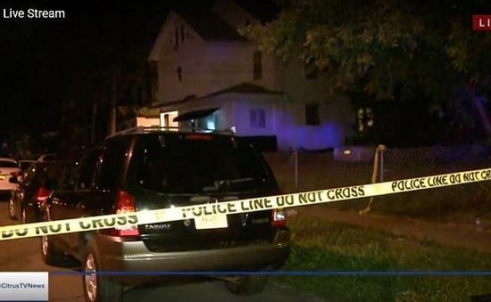 Xả súng ở Syracuse, Mỹ, nạn nhân có cả trẻ em