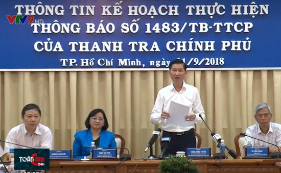TP.HCM công bố kế hoạch xử lý sau thanh tra về khu đô thị Thủ Thiêm
