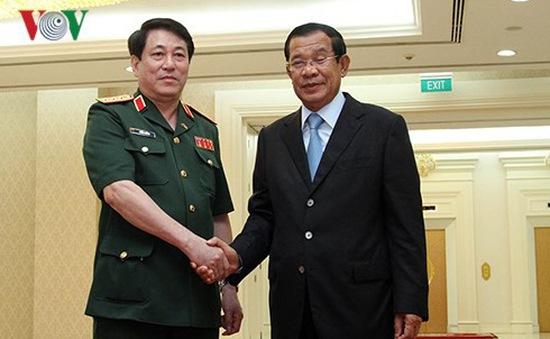 Thúc đẩy hợp tác quốc phòng Việt Nam - Campuchia
