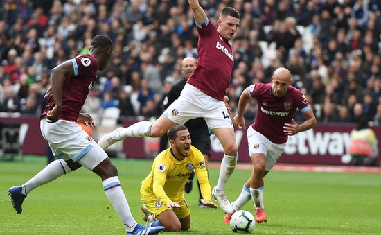VIDEO West Ham 0-0 Chelsea: The Blues may mắn có 1 điểm
