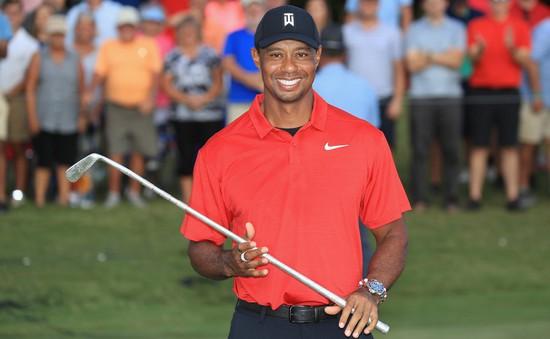 Tiger Woods giải toả cơn khát danh hiệu với chức vô địch PGA Tour Championship