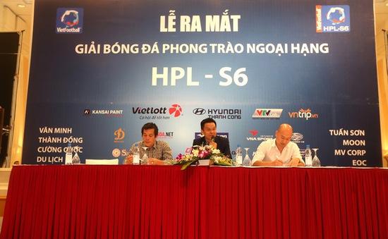 """Thành Lương, Văn Quyết """"làm nền"""" tại giải bóng đá """"phủi"""" HPL-S6"""