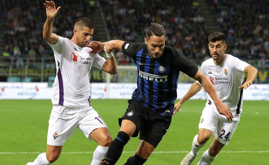 Vòng 6 Serie A: Inter Milan 2 - 1 Fiorentina