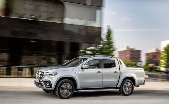 Mercedes khẳng định không làm phiên bản AMG cho xe bán tải X-Class