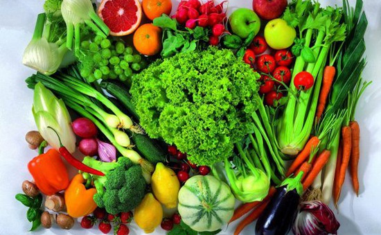 Chế độ dinh dưỡng nhiều rau quả ngăn ngừa lão hóa