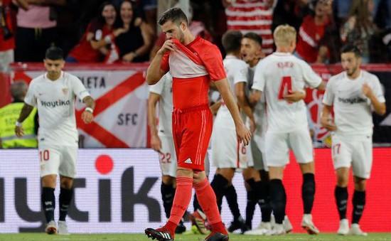 """Sevilla 3-0 Real Madrid: """"Kền kền"""" gục ngã"""