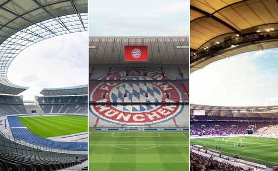Chiêm ngưỡng 10 SVĐ đăng cai EURO 2024 tại Đức