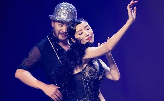 Choáng với vẻ ngoài bốc lửa của Đổng Khiết trong show truyền hình về vũ đạo