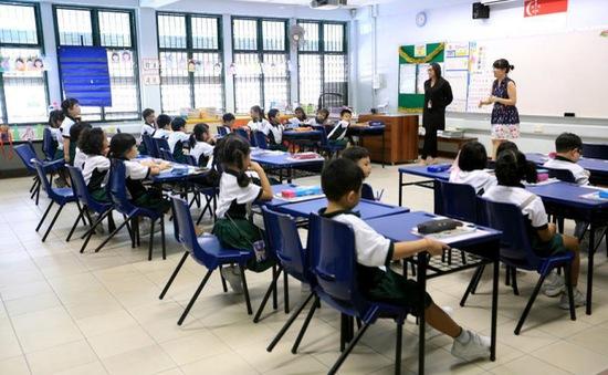 Singapore bỏ xếp hạng học sinh Tiểu học và Trung học
