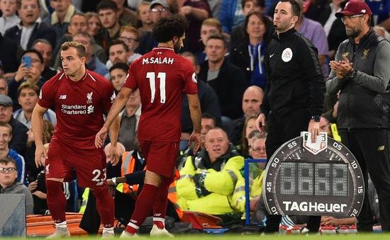 "Jurgen Klopp giải thích về việc ""trảm"" Salah trong trận gặp Chelsea"