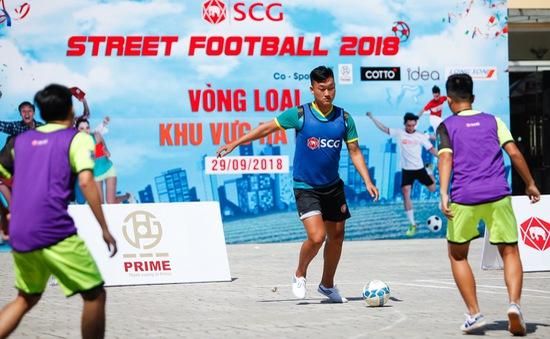 Tìm ra 2 đội bóng Hà Nội lọt vào VCK toàn quốc Giải bóng đá đường phố SCG Street Football 2018