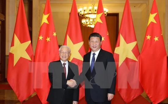 Lãnh đạo Đảng và Nhà nước chúc mừng thành tựu của Đảng và nhân dân Trung Quốc