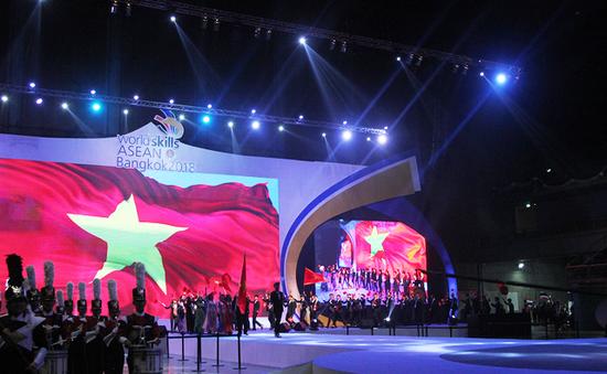 Đoàn Việt Nam đứng thứ 3 Kỳ thi tay nghề ASEAN