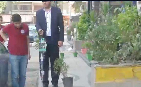 Ai Cập: Gậy dẫn đường thông minh dành cho người khiếm thị