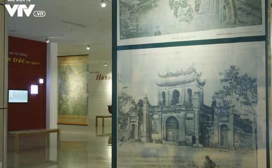 Tái hiện sinh động Hà Nội xưa tại Triển lãm Hoài niệm Hà Nội phố