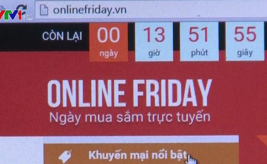 Khởi động mùa khuyến mãi Online Friday với hàng nghìn sản phẩm 0 đồng