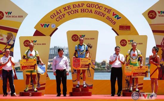 Giải xe đạp quốc tế VTV Cup Tôn Hoa Sen 2018: Loic Desriac giành chiến thắng chặng 5