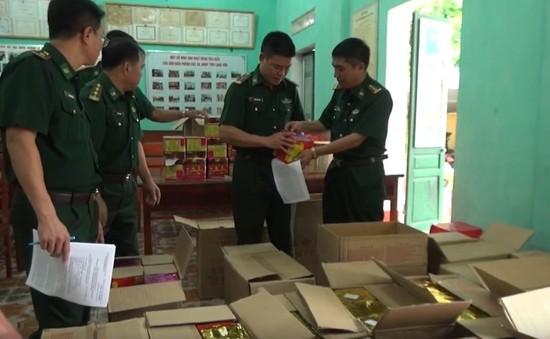 BĐBP tỉnh Lạng Sơn bắt đối tượng mua bán, vận chuyển pháo nổ