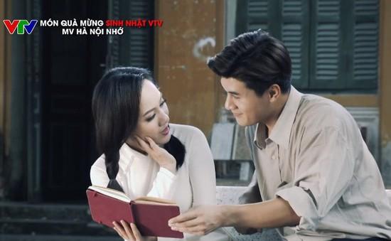 """BTV Hoài Anh diễn cực ngọt trong MV """"Hà Nội nhớ"""" mừng sinh nhật VTV"""